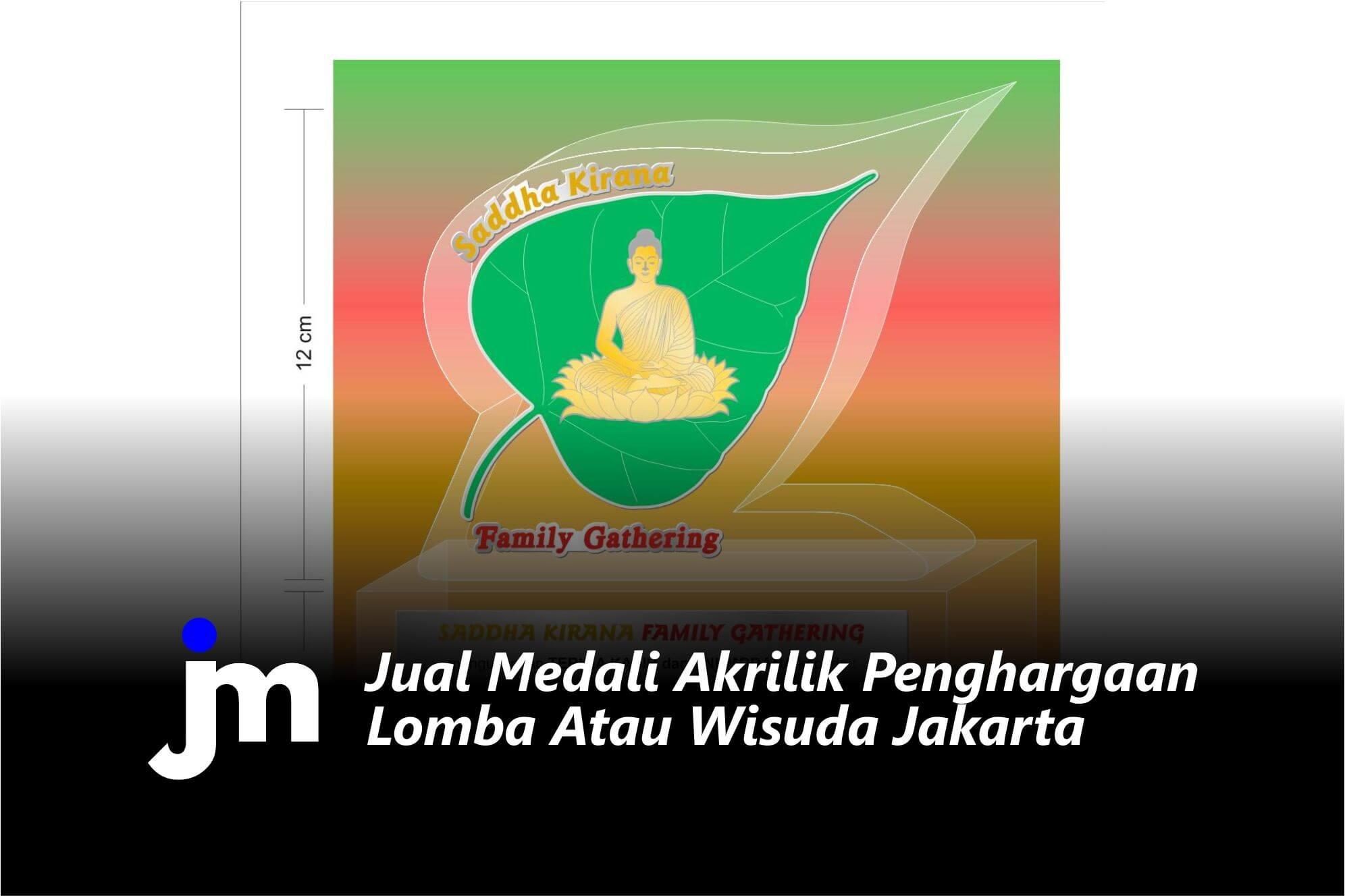 Jual Medali Akrilik Penghargaan Lomba Atau Wisuda Jakarta